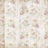 Drewniany kwiatu tło Fotografia Stock
