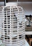 Drewniany lampowego cienia lub lampionu właściciel Obrazy Stock