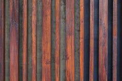 Drewniany lath linii wzór zdjęcia royalty free