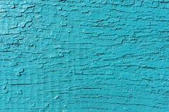 Drewniany malujący turkusowy tło starzejąca się tekstura ilustracyjny lelui czerwieni stylu rocznik Obrazy Royalty Free