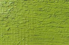 Drewniany malujący zielony tło starzejąca się tekstura ilustracyjny lelui czerwieni stylu rocznik Obrazy Stock