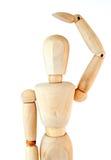 Drewniany mannequin Zdjęcia Stock