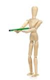 Drewniany mannequin Obraz Stock