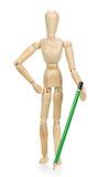 Drewniany mannequin! Obrazy Stock