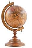 drewniany mapa świat zdjęcia stock