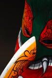 Drewniany Maskowy festiwal w Tajlandia zdjęcia royalty free