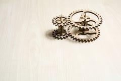 Drewniany mechanizm fotografia royalty free