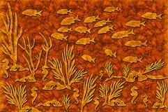 Drewniany morze Fotografia Stock