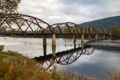 drewniany most Obraz Stock