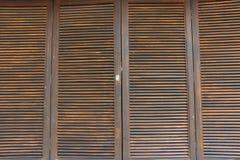 Drewniany nadokienny tło Fotografia Stock