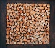 Drewniany naturalny piłujący beli zbliżenia tekstury tło zdjęcie stock