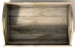Drewniany Niesie skrzynkę Obraz Stock