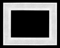 drewniany obrazka ramowy biel Obraz Royalty Free