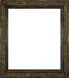 drewniany obrazka ramowy biel Zdjęcie Royalty Free