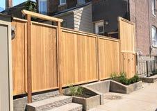 Drewniany Ogrodzenie Obraz Stock