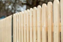 Drewniany ogrodzenie Zdjęcie Stock
