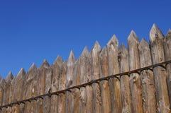 Drewniany ogrodzenie Obraz Royalty Free