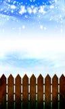 Drewniany ogrodzenie Zdjęcia Stock