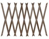 Drewniany ogrodzenie dla ogródu Obraz Stock