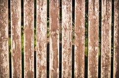 Drewniany ogrodzenie jako tło obrazy stock
