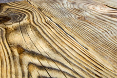Drewniany ogrodzenie w Rosyjskim głębie lądu Zdjęcia Stock