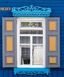 Drewniany okno Obrazy Royalty Free