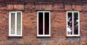 Drewniany okno Obrazy Stock