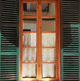 Drewniany okno Obraz Stock