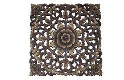 Drewniany ornament Zdjęcie Stock