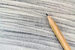 Drewniany ołówek Fotografia Royalty Free