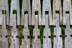 drewniany płotu Zdjęcie Stock