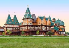 Drewniany pałac Zdjęcia Royalty Free
