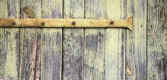 Drewniany panel, deskowy sztandar zdjęcie stock