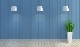Drewniany pastelowego koloru ściany tło Obrazy Stock