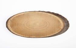 Drewniany plasterek zdjęcie royalty free