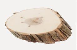 Drewniany plasterek w perspektywie Fotografia Stock