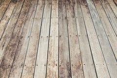 Drewniany podłogowy tło i tekstura Fotografia Stock