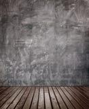 Drewniany podłogowy pokój. Obraz Stock