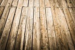 Drewniany pokładu tło Obrazy Stock