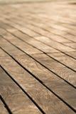 Drewniany pokład Zdjęcia Stock