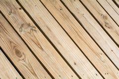 Drewniany pokład Obrazy Stock