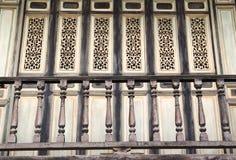 Drewniany poręcz Obraz Stock