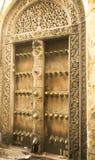Drewniany portal Zdjęcia Stock