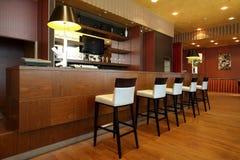 drewniany prętowy stojak Fotografia Royalty Free