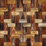 Drewniany prostokątny parkietowy brogujący dla bezszwowego tła Zdjęcie Stock