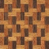 Drewniany prostokątny parkietowy brogujący dla bezszwowego tła Zdjęcia Stock