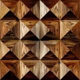 Drewniany prostokątny parkietowy brogujący dla bezszwowego tła Obraz Royalty Free