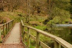 Drewniany przejście Fotografia Royalty Free