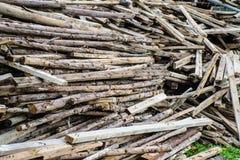 Drewniany przygotowanie Obraz Royalty Free