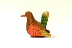 Drewniany ptak Fotografia Royalty Free